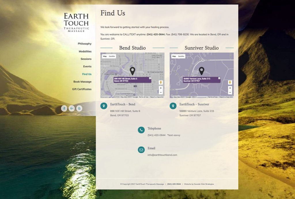 EarthTouch - local SEO