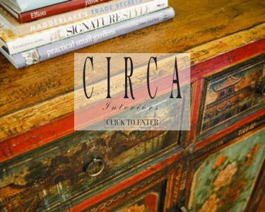 Circa Interiors fullscreen splash page