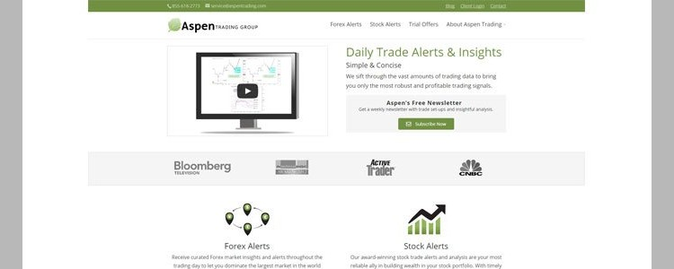 Aspen Trading - Home page