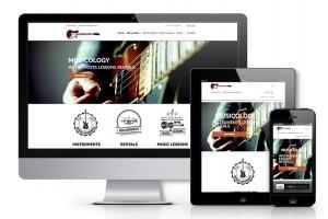 Musicology - responsive design