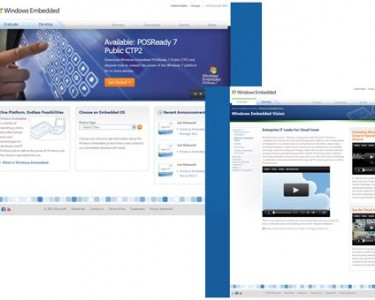Windows Embedded - Redesigned & Rearchitected